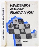 Bakcsi György (szerk.): Kevésbábos magyar feladványok. Budapest, 1982, Sport. Kiadói kemény papírkötés, kissé viseltes állapotban, kicsit laza fűzéssel, kicsit sérült gerinccel, számos szövegközti illusztrációval.