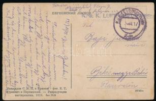 1917 Képeslap / Postcard K.u.k. Luftfahrtruppen FLIEGERDEPOT.... + FP 229