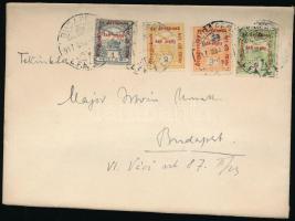 1917 Levél Hadisegély II. bérmentesítéssel