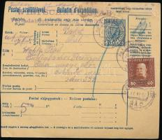 1917 Csomagszállító 80h bérmentesítéssel EP 347