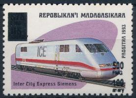 1998/1999 Definitive overprinted stamp 1998/1999 Felülnyomott forgalmi bélyeg
