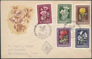 1950 Virág (I.) sor FDC-n (3.000)