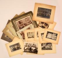 cca 1880-1940 18 db nagyméretű iskolai tabló és csoportkép budapesti, I. és II. kerületi iskolákból