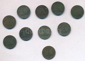 1926-1939. 1f Br (10xklf) T:2