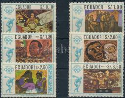 1967 Olimpia sor Mi 1313-1318
