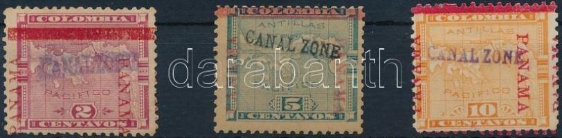 Forgalmi sor ( Mi 2 falcos) Definitive set (Mi 2 hinged)