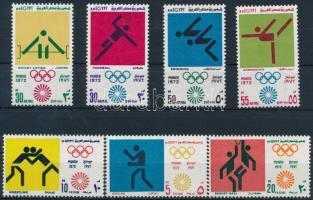 1972 Olimpia sor Mi 1098-1104