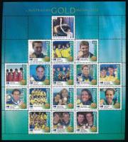 2000 Nyári olimpia; Ausztrál aranyérmesek teljes ív Mi 1973 II-1988 II, 1997