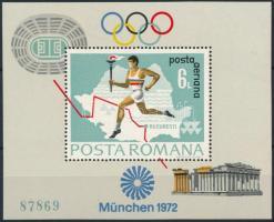 1972 Olimpia blokk Mi 93