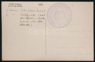 1916 Címzetlen tábori posta képeslap / Unused field postcard Kommando der k.u.k. Fahrbaren Kraftwagen - Werkstätte 39