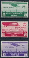 Airmail values Repülő értékek
