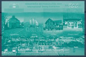 2011 HUNFILA Balatonfüred emlékív A szakosztály támogatásáért (Sorszám: 222)