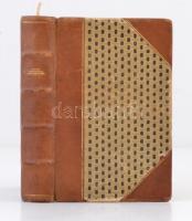 Daudet: Levelek a malmomból. Fordította: Fábry Rezső. Bp., Rózsavölgyi és Társa. Bordázott gerincű félbőr kötés, kissé kopott állapotban.