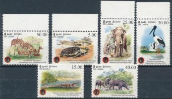 2013 Állatok, Yala nemzeti park sor Mi 1956-1961