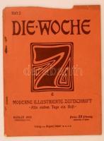 1905 Berlin, Die Woche, Moderne illustrierte Zeitschrift, 7. Jahrgang, Heft 2. (A Hét, modern illusztrált folyóirat, 7. évfolyam 2. füzet)