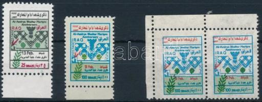 1997 Háború mártírjai sor + pár Mi 1572-1573 I + 1573 I-II