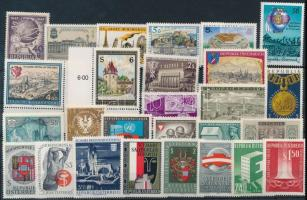 1947-1994 24 diff stamps, 1947-1994 24 klf bélyeg