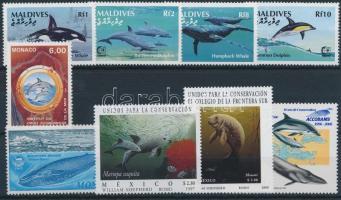 1983-2006 Tengeri állatok motívum 1 db sor + 5 klf önálló érték