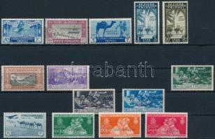 Olasz Tripolitánia 14 db bélyeg (Mi EUR 74,3) (apró hibák, betapadás, rozsda / gum disturbance, stain)