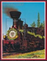 Locomotive block, Mozdony blokk