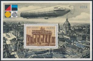 International Stamp Exhibition '87 LUPOSTA block, Nemzetközi Bélyegkiállítás LUPOSTA '87 blokk