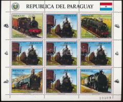Freight locomotives coupon minisheet, Tehermozdonyok szelvényes kisív
