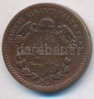 1868KB 1kr Cu Angyalos címer T:2,2-