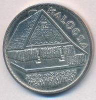 Csúcs Viktória (1934-) DN Kalocsa jelzett Ag emlékérem (16,78g/0.925/32mm) T:1 patina