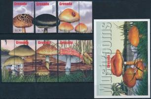 Mushroom set + block, Gomba sor + blokk