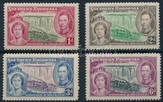 1935 V. György király sor Mi 32-35