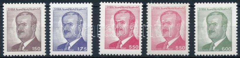 President Assad set with version, Asszád elnök sor változattal