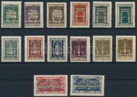 1924 Mi 168-181
