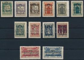 1924 Mi 182-191, 194-195