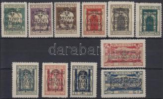 1924 Mi 182-190, 194-195