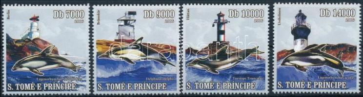 2006 Delfin és világítótorony sor Mi 2789-2792