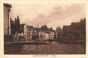Veli Losinj, Lussingrande; Porto / port, ships (EK)