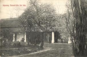 Tiszafüred; Lipcsey József-féle ősi ház, Goldstein Adolf kiadása (EK)