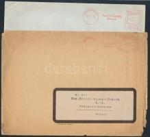 Deutsches Reich 5 db céges levél gépi bérmentesítéssel az 1930-40-es évekből