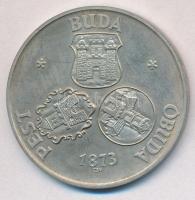 Csúcs Viktória (1934-) 1973. Pest-Buda-Óbuda egyesítésének centenáriuma / Pro memor urbe centen Ag emlékérem (25,23g/0.800/42,5mm) T:2