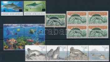 1962-2004 Tengeri állatok motívum 3 db sor + 5 db önálló érték