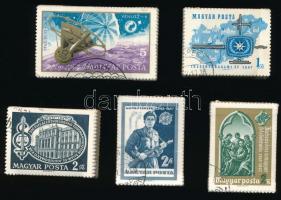 1967 Évfordulók - Események (V) sor + Vénusz-4 bündlikben (25.000)