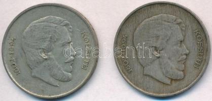 1947. 5Ft Ag Kossuth (2x) T:2,2- patina, karc