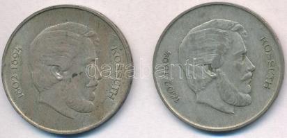 1947. 5Ft Ag Kossuth (2x) T:2,2- ph., patina