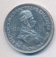 1896KB 1K Ag Millenium T:2 kis ü. Adamo K5.2