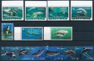 1997-2011 Tengeri állat motívum 2 db sor + 3 db önálló érték