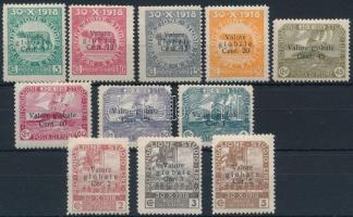 1919 Forgalmi sor Mi 74-84 I