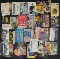 1993-2000 37 db MATÁV telefonkártya, közte több lyukasztottal