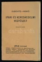 Dr. Dubovitz Hugó, Haskó Lajos: Ipari és kereskedelmi vegyészet. Bp., é.n., Delta Könyvkiadóvállalat. Kiadói papírkötés, a kötése kissé laza, de a könyvtest egyben van, szövegközti illusztrációkkal.