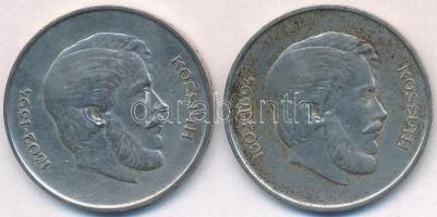 1947. 5Ft Ag Kossuth (2x) T:2,2- patina
