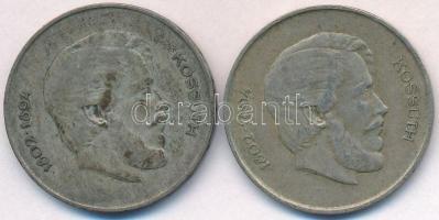 1947. 5Ft Ag Kossuth (2x) T:2,2- ph., erős patina
